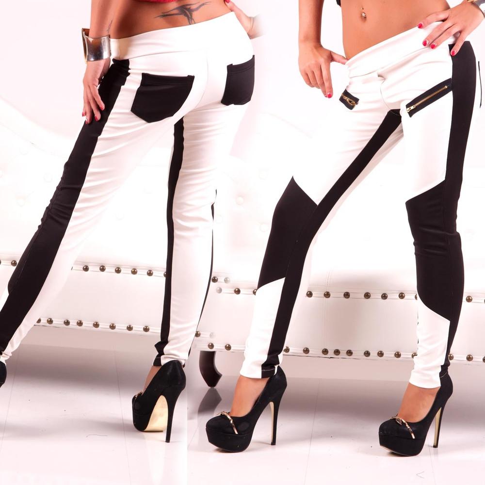 schwarz wei gestreifte hose redirecting to mode jeans. Black Bedroom Furniture Sets. Home Design Ideas